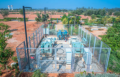 Transformer yard and fencing in strategic locations is 99% complete – January 2020
